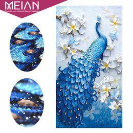 Peacock Paintings Australia - Meian,special Shaped,diamond Embroidery,animal,peacock,full,rhinestone,5d,diy Diamond Painting,cross Stitch,diamond Mosaic,decor Q190426