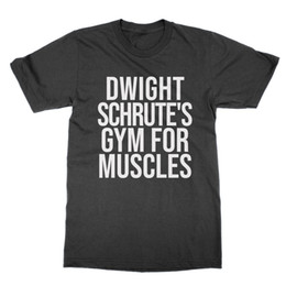 559e022d Muscle t shirts for Men online shopping - Dwight Schrute s Gym for Muscles  unisex t