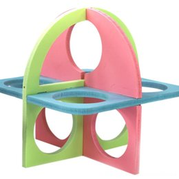 toy s wholesale NZ - Cute Small Animal Supplies Pet Supplies Colorful Hamster Ladder Exercise Toys Decoration Funny Pets Fitness Sport Activity Center Climbing S