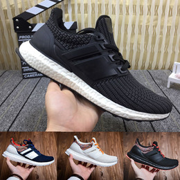 HigH ankle sneakers women online shopping - Designer UltraBoost Shoes for Mens Athletic Sneaker Ultra Shoes CNY Outdoor Trainer Walking High Quality women shoes size