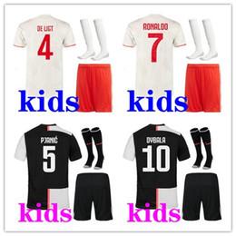 5949b5fedd Camiseta equipniños ación Juventus La Juve 2019 2020 conjuntos personalizados  adultos DYBALA RONALDO MARCHISIO MANDZUKIC fútbol