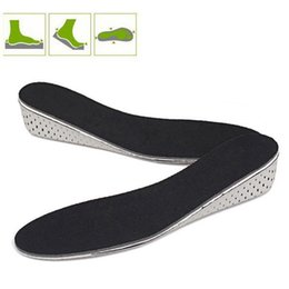 heel lift insoles women Australia - Men Women Breathable Invisible Outdoor Heel Lifting Memory Foam Massage Shoes Adults Foot Insole Height Increase Inserts Pads