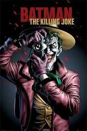 Batman Art Joker Australia - Batman The Killing Joker wall decor Art Silk Print Poster 87