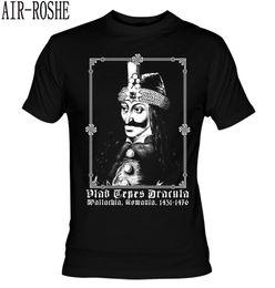 $enCountryForm.capitalKeyWord Australia - Vlad Tepes 1431-1476 T-shirt Dracula Bathory Halloween Gothic Nu Goth Vampire Mens T Shirts Short Sleeve Trend Clothing