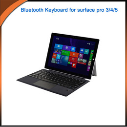 $enCountryForm.capitalKeyWord Australia - Smart Bluetooth Keyboard Magnetic TouchPad Ultra Lightweight Cover Case For Microsoft Surface pro 3 4 5