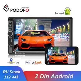 $enCountryForm.capitalKeyWord UK - Podofo 2din Android Car Radio Mirrorlink GPS Autoradio Universal Car Multimedia MP5 Player Bluetooth FM Support Rear View Camera