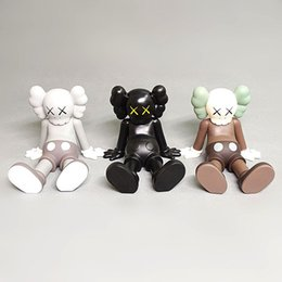 doll bulk NZ - Foreign Trade Bulk Goods KAWS Sesame Street Doll Car Fashion Ornaments Toy Sitting Limited Joint Name Hand Gift