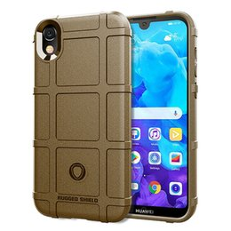 $enCountryForm.capitalKeyWord Australia - For Huawei Y5 2019 Case Cover Soft Hybrid Armor Silicone Rubber Rugged Matte Finished Shield Fingerprint Proof Non-Slip