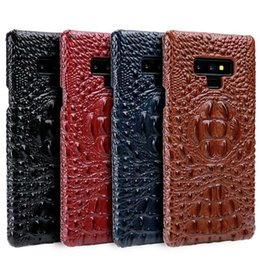 $enCountryForm.capitalKeyWord NZ - Phone Cases For Samsung Galaxy Note 9 Case Crocodile Head Pattern Genuine Leather Cover For Samsung S9 Plus Note 8 S8 Plus Funda T190710