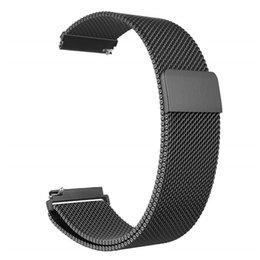 Milanese Loop For Gear Australia - For Galaxy Watch 46mm   Gear S3 Frontier Classic Band 22mm 20mm Milanese Loop Stainless Steel Bracelet Wrist Strap for Gear S2