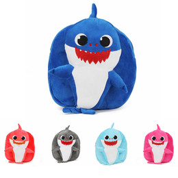 Baby Shark Plush Backpack School Bag Girl Boy Kids Children School Bags  Backpacks Infantil Escolar Mochilas AAA1837 bd80fb0fd28ec