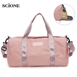 Swimming Yoga Fitness Gym Bags Dry Wet Bag Handbags For Women Shoes Travel  Training Waterproof Pink Pool Beach Duffel XA545WA  29490 916d8ac70cbcd