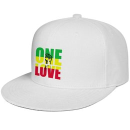 $enCountryForm.capitalKeyWord Australia - Bob Marley One Love Jamaica Reggae Hip Hop Rap Music Snapback Baseball Cap Cool Cotton Caps One Size Dad Mens Women's Hats