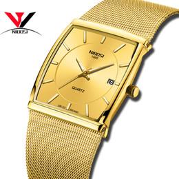 $enCountryForm.capitalKeyWord Australia - Nibosi Golden Quartz Watch Men Watches Relogio Masculino Top Luxury Gold Bracelet Wrist Watches Steel Waterproof Male Clock GMX190711