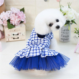 small dog tutu Australia - pet dog accessories Pet Dog Clothes Pets Summer Dogs Harness Skirt Clothes Small Dog Dress Pet Tutu Dress Wedding Dress drop ship