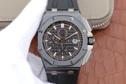 Discount jf watches - JF factory hot style luxury watches 3126 automatic mechanical black timer aaa luxury mens watches