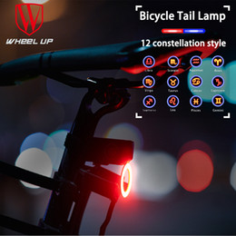 $enCountryForm.capitalKeyWord UK - WHEEL UP Bike Light Waterproof Cycling Helmet Taillight Lantern Rear Light For Bicycle USB Rechargeable Safety Night Riding
