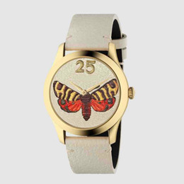 $enCountryForm.capitalKeyWord Australia - Ducci luxury watch unisex watches brand quartz watch G-timeless new fashion Butterfly Bee waterproof watch wholesale
