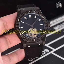 Magic Black Coating Australia - 2019 new men's watch, comfortable rubber cowhide strap, fully automatic mechanical movement, 316 stainless steel case, magic coated glass.