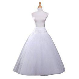 $enCountryForm.capitalKeyWord Australia - A-line Slips Tulle Halloween Petticoat Crinoline Vintage Wedding White Bridal Petticoat for Wedding Dresses