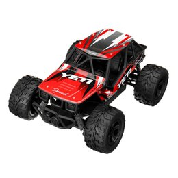 race car toys UK - 1 20 2.4G High-speed RWD RC Car Racing Big Foot Off-road Truck RTR Alloy Shell Toys