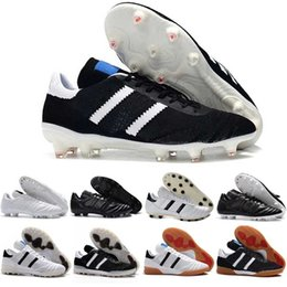 $enCountryForm.capitalKeyWord Australia - Copa Mens Mundial Leather Fg Soccer Shoes 70y Fg Soccer Cleats 2019 World Cup Football Boots Size 39-45 Black White Orange Botines Futbol