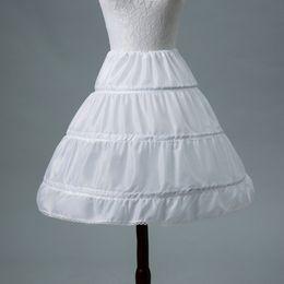 $enCountryForm.capitalKeyWord Australia - White Children Petticoats Short For Flower Girl Dress Slit 2018 Wedding Accessories Girls Kids Crinoline Underskirt cpa1191