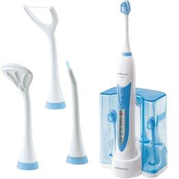 Grundig elektrische Schallzahnbürste Zahnbürste Aufsteckbürsten NEU / OVP Grundig elektrische Schallzahnbürste Zahnbürste Au