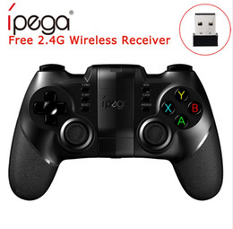 Android Tv Box Gamepad Australia - IPEGA PG-9076 PG 9076 Bluetooth Game Controller Gamepad For PlayStation3 2.4G Wireless For PS3 Android Windows Joystick Game Console TV BOX