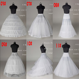 netted line evening gowns UK - 2020 Cheap Net Petticoat Ball Gown Wedding Dress Mermaid A Line Crinoline Prom Evening Dress Petticoats 6 Style Bridal Wedding Accessories