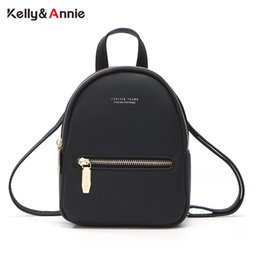 Mini feMale backpack online shopping - Forever Young Women Backpack Soft Leather Multi Function Female Mini Backpack Shoulder Bag Ladies Purse Small Mochila Bolsos