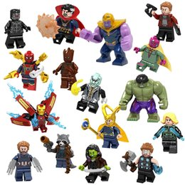 $enCountryForm.capitalKeyWord Australia - Amazon hot sale Minifigures Set 16 Pcs Heroes Fighting with Accessories, Mini Figures Building Bricks Blocks Action Figures Toy Christmas