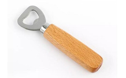 Caps opener online shopping - Wooden Handle Handheld Bottle Opener Wine Beer Soda Glass Cap Bottle Opener Cerative Kitchen Bar Tools