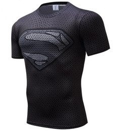 fc4721ff T Shirt Superman Fashion UK - Superman 3D Printed T-shirts Men Compression  Shirts Short