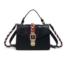 designer leather handbags women bag fringe Twisted shoulder strap bag  fashion top-handle bags ladies messenger bags luxury brand bag 75922330b1a6a