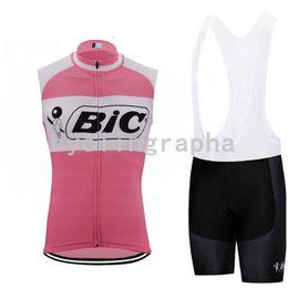 $enCountryForm.capitalKeyWord Canada - Pro 2019 BIC Team sleeveless Jersey shorts Cycling Clothing MTB Maillot Ropa Ciclismo Men summer Breathable shorts suit clothing