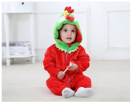 $enCountryForm.capitalKeyWord NZ - Jumpsuits Baby Clothes Summer Ins Hot Style Childrens Clothing Spring And Autumn Flannel Bear Animal Style Climbing Clothes Baby Romper
