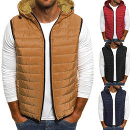 ingrosso maglia chiusura lampo-Felpa con cappuccio Autunno Inverno uomo Moda Zipper colore puro panciotto Top Coat Fashion Girl Boy Donna L Uomo Autunno Selli