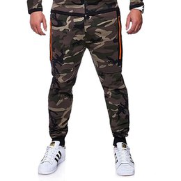 $enCountryForm.capitalKeyWord NZ - New Strong Mens Casual Camo Pants Cotton Chino Jogger Pants Man Fitted Trace Twill Male Camouflage Slim Fit Trousers 3XL