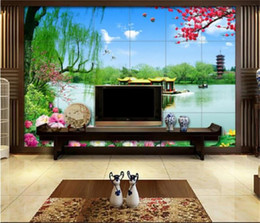 $enCountryForm.capitalKeyWord Australia - custom size photo wallpaper 3d wall mural livingroom lake flowers building landscape picture sofa backdrop wallpaper mural non-woven sticker