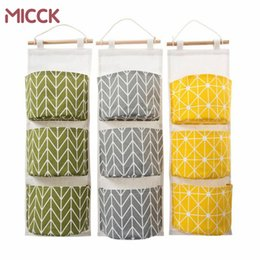 $enCountryForm.capitalKeyWord Australia - MICCK Multilayer 3 Pockets Hanging Organizers Kitchen Bathroom Sundries Storage Bag Linen Wall Door Wardrobe Hanging