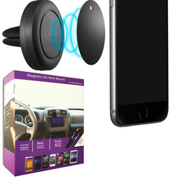 TableT holder air venT for car online shopping - Universal Air Vent Magnetic Car Mount Holder for Cell Phones and Mini Tablets with Fast Swift Snap Technology Magnetic Cell Phone Holders