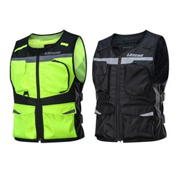 $enCountryForm.capitalKeyWord Australia - LYSCHY Reflective Waistcoat Clothing Waterproof Motocross Off-Road Racing Vest Motorcycle Touring Night Road Riding Jacket Veste Moto