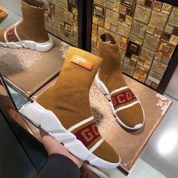 $enCountryForm.capitalKeyWord Australia - Luxury Speed Sneakers X Gcds Mens Women Classic Arena Sock Boot Textile Upper High -Top Stretch Knit Sneaker Socks Boots Bal14