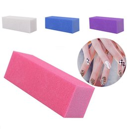 $enCountryForm.capitalKeyWord Australia - 10Pcs Nail Manicure Buffing Sanding Buffer Block Files Salon Art Polisher Tool Nail Art & Tools