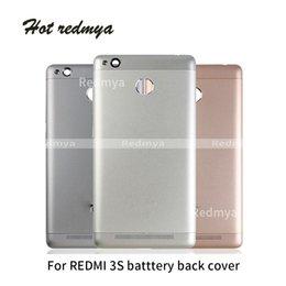 $enCountryForm.capitalKeyWord Australia - Full Housing Cover For Xiaomi Redmi 3S Battery Cover Back Housing Full Back Cover Door Rear Case +Side button