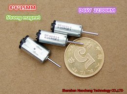 $enCountryForm.capitalKeyWord Australia - 100pcs lot, strong magnet DC6V 22000rpm micro DC motor 6*8*15mm high speed motor for digital camera ~