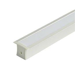 wall flashlight NZ - Surface mounting led aluminum profile housing and T type profile extrusion with pc milky cover for ceiling or recessed wall lamp