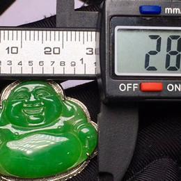 Jade Gold Pendants Australia - W0236 M.G.Fam Chinese Ancient Mascot Dragon Pendant Necklace 24K Gold Plated AAA+ Green Malaysian Jade