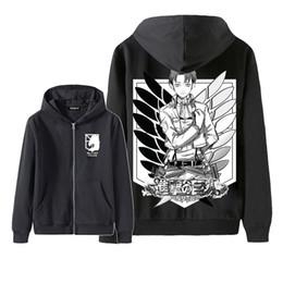 Scouting legion hoodie online shopping - Attack on Titan hoodie Shingeki no Kyojin Legion Cosplay Costume Hoodie Scouting Legion Hooded jacket zipper coat